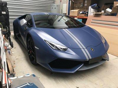 1 giro con Lamborghini Avio a Varano