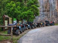 Quad parcheggiati