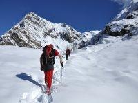 Verso l'Alpe Sattal in inverno_Alpi Italiane