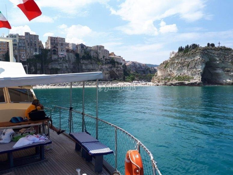 a pesca in Calabria