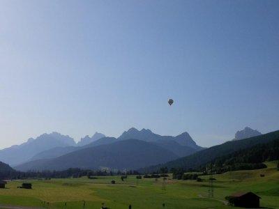 Volo in mongolfiera di 1 ora in Val Pusteria