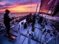 Skipper al tramonto
