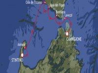 Strait of Bonifacio sailing school week 36.7