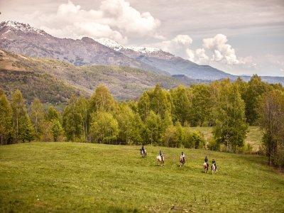 Escursione a cavallo di 6 ore a Sedilo sul Tirso