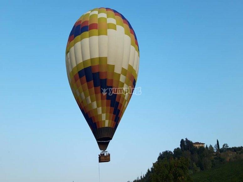 nel cielo della Toscana