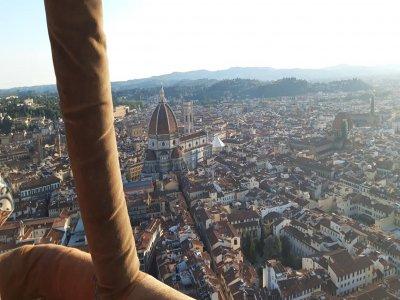 Tour esclusivo in mongolfiera su centro di Firenze
