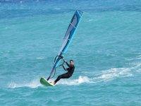 Windsurf di 1ora e 50 vicino a Rimini
