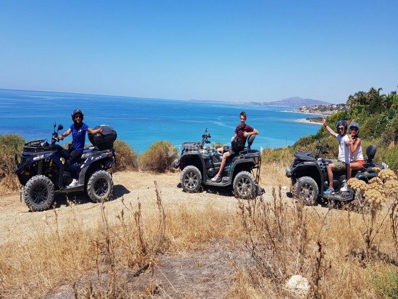 Panorama dai quad