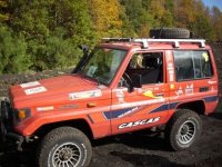 In Etna jeep