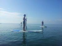 Sulla paddle board
