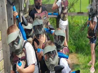 Partita a paintball di 90 minuti vicino a Bergamo