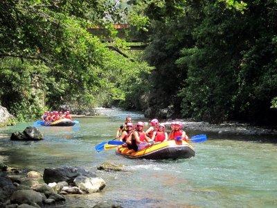 Soft rafting di 1 ora sul fiume Lao in Calabria