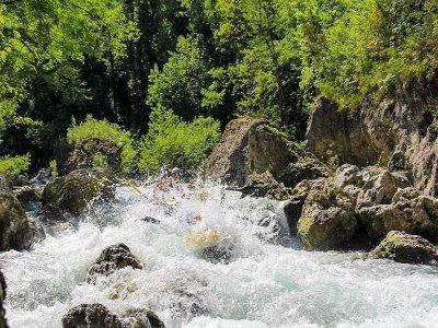 Rafting di 3 ore sul fiume Lao in Calabria