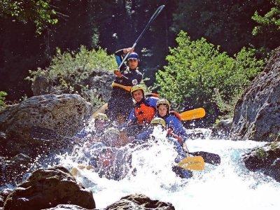Rafting di 6 ore lungo il fiume Lao in Calabria