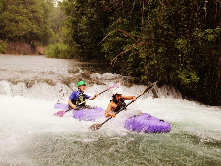 in kayak nel Lao