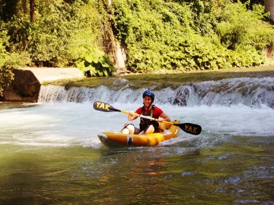 Corso base di Kayak in provincia di Cosenza