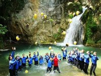 Canyoning on the Jannello river Calabria 2 hours