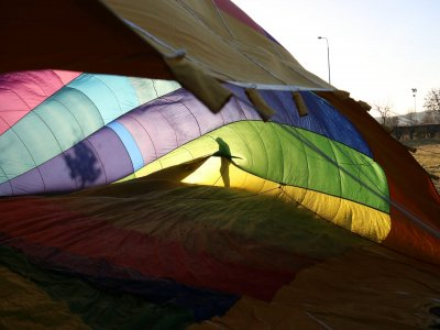 Volo in mongolfiera su Mondovì di 1 ora