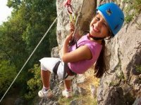Climbing with a smile