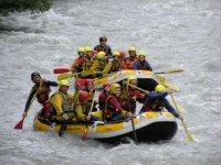 Rafting sull Adige