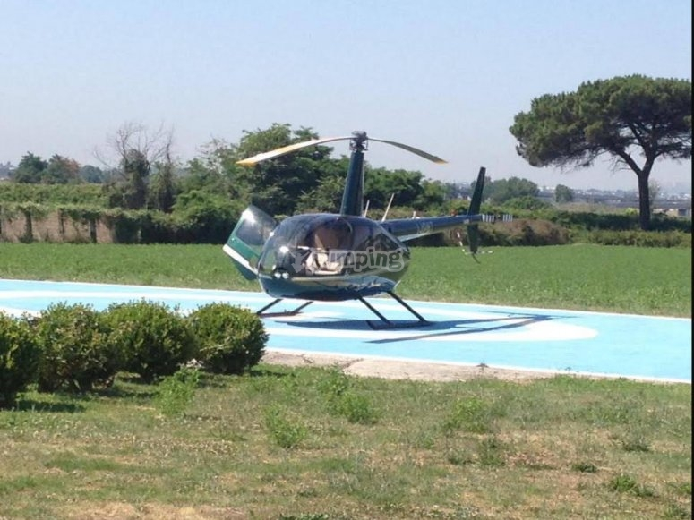 our helicopter