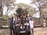 safari in Africa in 4x4