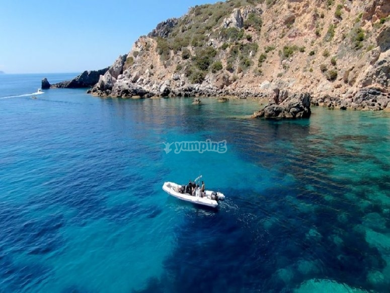 The wonder of the Tyrrhenian Sea