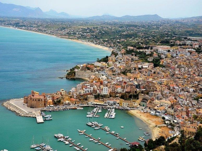 Castellammare del Golfo Harbor, Sicily