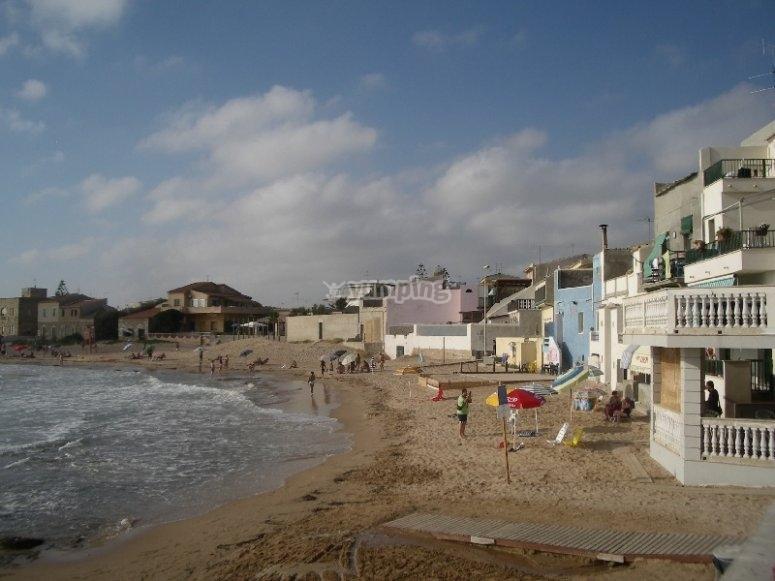 La casa sulla spiaggia di Montalbano