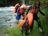 Costeggiando il fiume