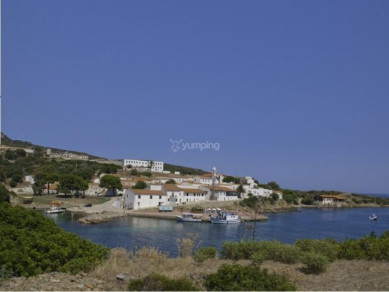 spiaggia dell Asinara