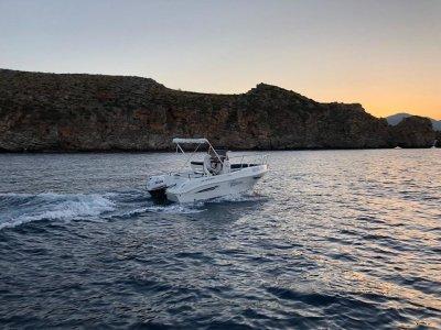 Noleggio barca motore Castellammare del Golfo 4ore