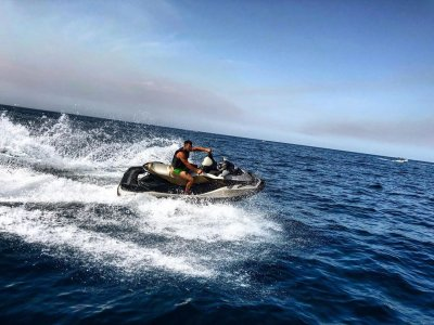 Jet ski in Castellammare del Golfo 30 minutes
