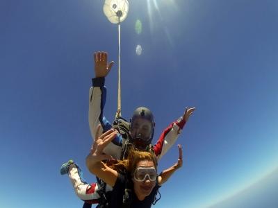 Lancio paracadute tandem a Letojanni 1 ora