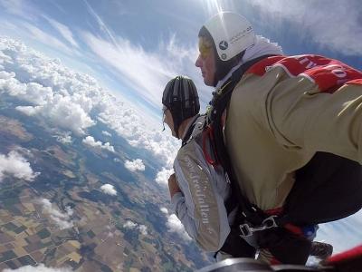 Lancio paracadute tandem foto+video Letojanni 1ora