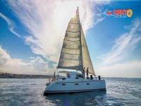Profilo del nostro catamarano