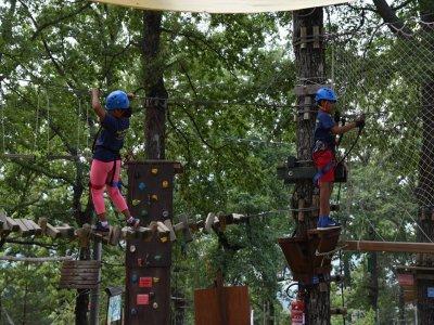 Parco avventura Bagno di Romagna 1ora e30 bambini