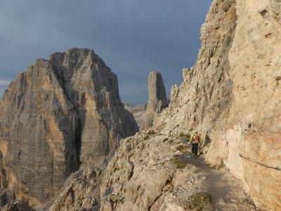 Pacchetto via ferrata sulle Dolomiti di 3 giorni