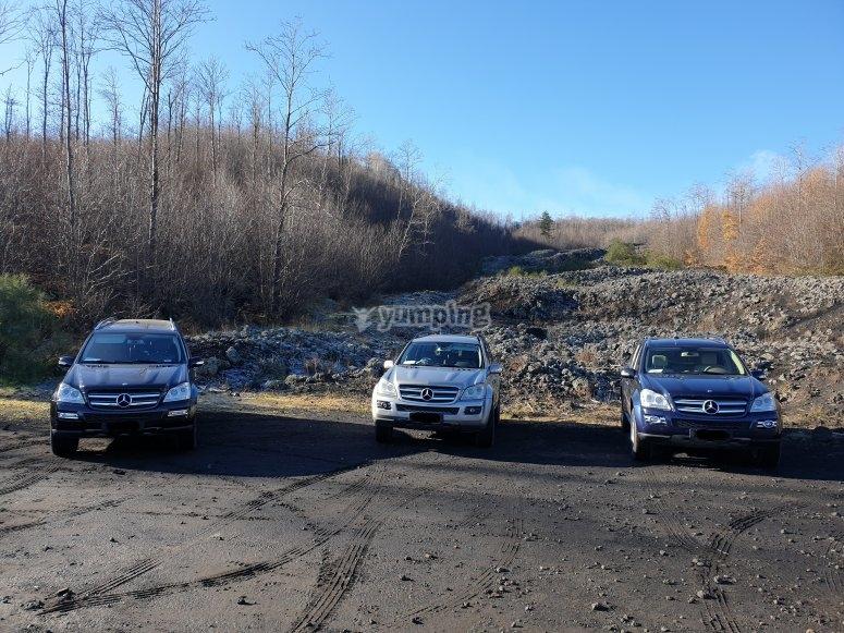 Mercedes GL off-road vehicle