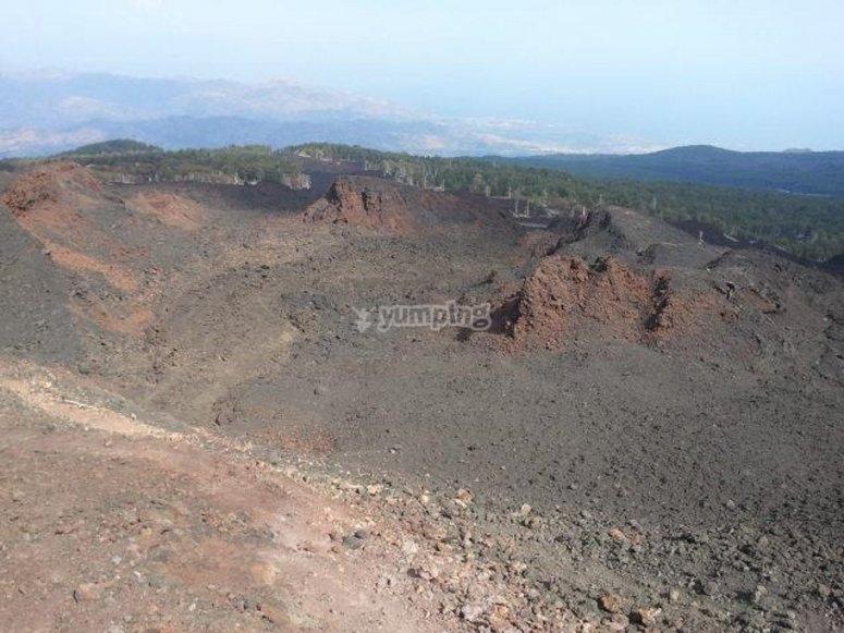 I sentieri dell'Etna
