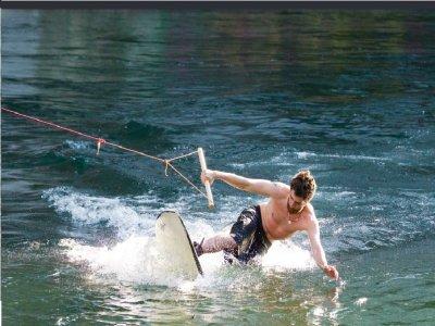 Cable wakeboard a Roma per 3 ora con drink