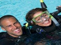 Having fun while diving