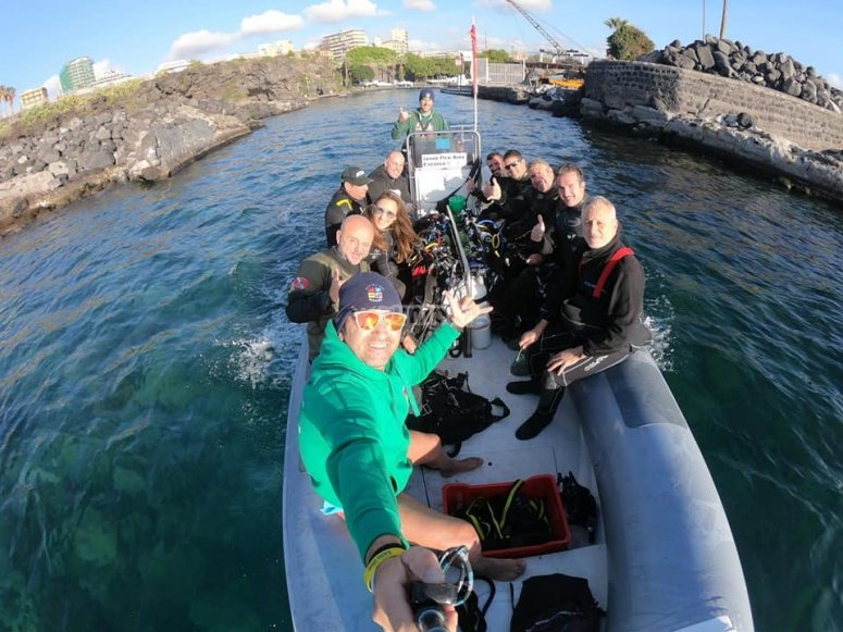 excursion in rubber dinghy