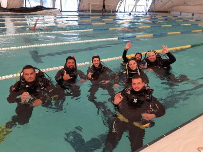 3-day Open Water Diving course in Catania