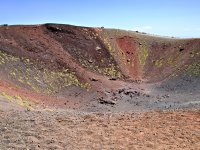 One of the craters of Etna