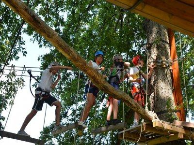 Parco avventura Bagno di Romagna 2ore 2percorsi
