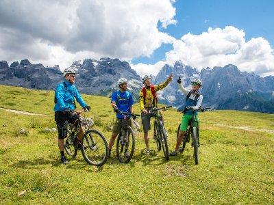 Pacchetto con MTB sulle Dolomiti 3 giorni