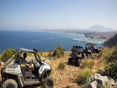 Segesta buggy tour and sea half day