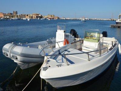 Noleggio imbarcazione Marzamemi 4ore senza patente