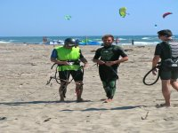 Kite surfing courses